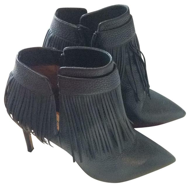 Item - Rockeem Fringed Leather Ankle Boots/Booties Size EU 36 (Approx. US 6) Regular (M, B)