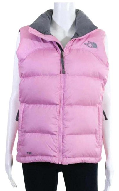 Item - Pretty Pink (Final Price)like New Goose Down Puffer Vest Size 6 (S)