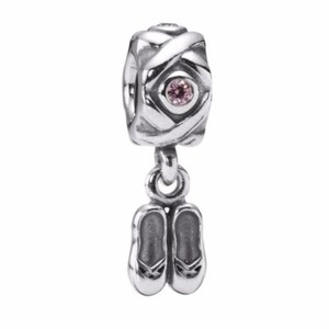 PANDORA Dancer's Ballet Shoes Charm