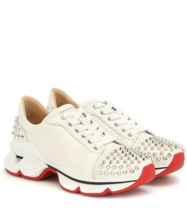 Christian Louboutin Sneakers Low Top Spiked Vrs White Athletic