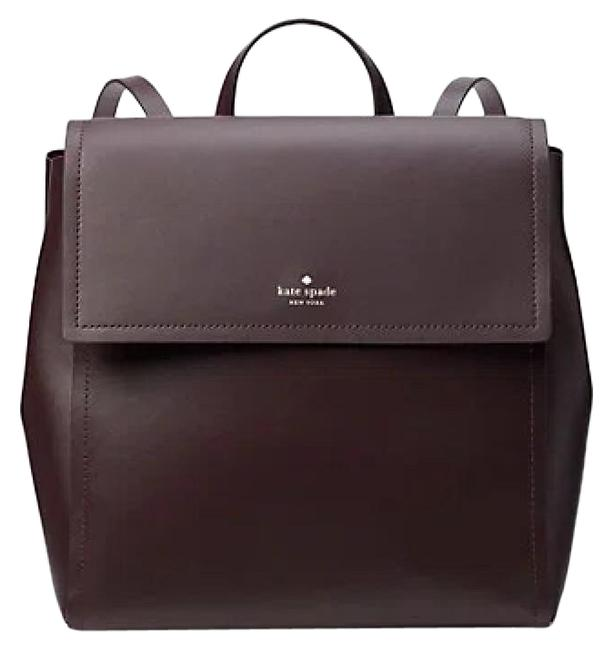 Item - Somerville Road Megyn Chocolate Cherry Brown Leather Backpack