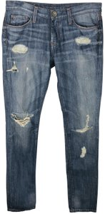 Banana Republic Distressed Destroyed Skinny Jeans
