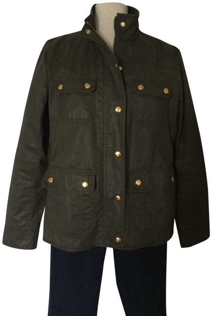 Item - Mossy-brown Downtown Field Jacket Size 4 (S)