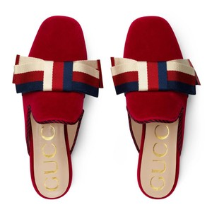 Gucci Sandals Summer Night Out red Mules