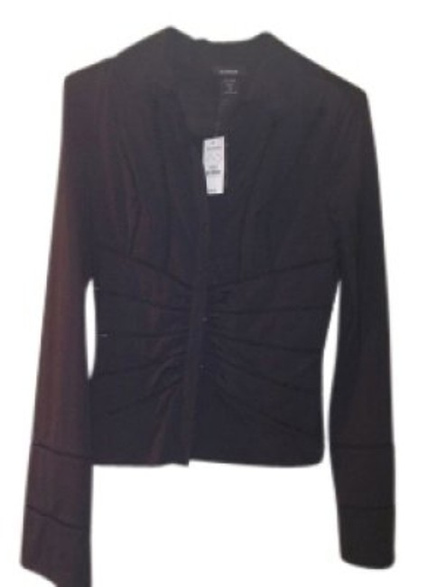 Preload https://img-static.tradesy.com/item/26798/express-black-great-blouse-button-down-top-size-8-m-0-0-650-650.jpg