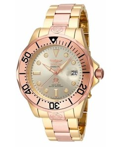 Invicta Pro Diver Analog Display Japanese Two Tone Men's Watch