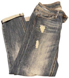 Dollhouse Capri/Cropped Denim-Distressed