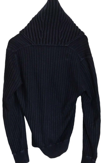 Item - Yves Men's Cashmere Medium Navy Sweater