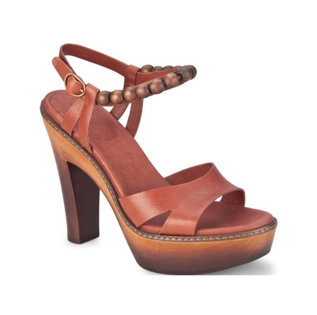 Item - Cinnamon Naima Sandals with Heels Platforms Size US 9.5 Wide (C, D)