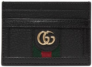 Gucci Ophidia Leather Card Case Holder Wallet