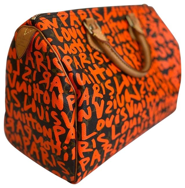 Item - Orange Brown. Canvas Weekend/Travel Bag