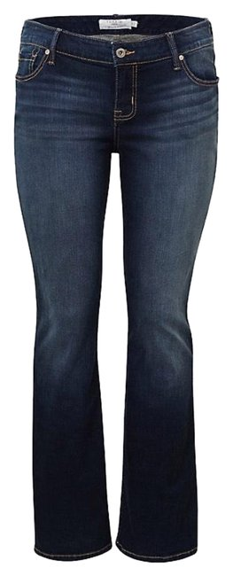 Item - Dark Wash Rinse Vintage Stretch Relaxed Fit Jeans Size 20 (Plus 1x)