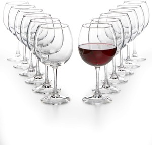 Clear The Cellar Glassware Basics 12-piece Stemless Wine Set Serverware