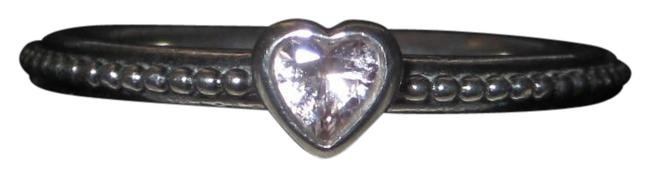Item - Pink Crystal Heart Ring