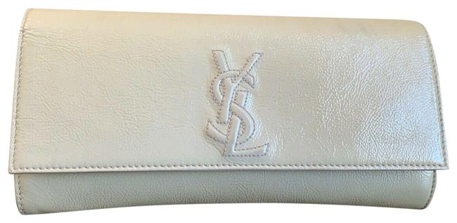 Item - Belle de Jour Small Pale Yellow Leather Clutch