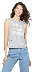 Modern Lux Women's Fresher Than Lemonade Muscle Graphic Tank