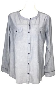 Toad&Co Button Down Shirt blue