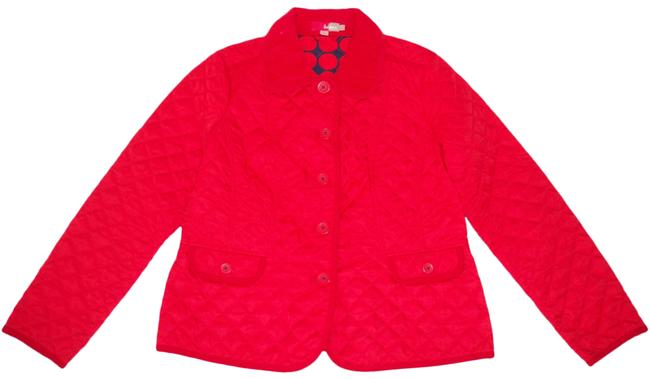 Item - Red New Quilted Jacket Size 14 (L)