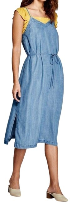 Item - Blue Women's Denim - Universal Thread Xx-large Casual Maxi Dress Size 22 (Plus 2x)