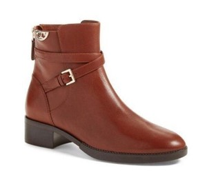 Tory Burch Sidney Ankle Brown Boots