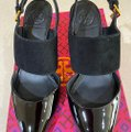 Tory Burch Black 42958 Pumps Size US 5.5 Regular (M, B) Tory Burch Black 42958 Pumps Size US 5.5 Regular (M, B) Image 2