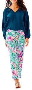 Lilly Pulitzer Relaxed Pants Multi Slathouse Soiree