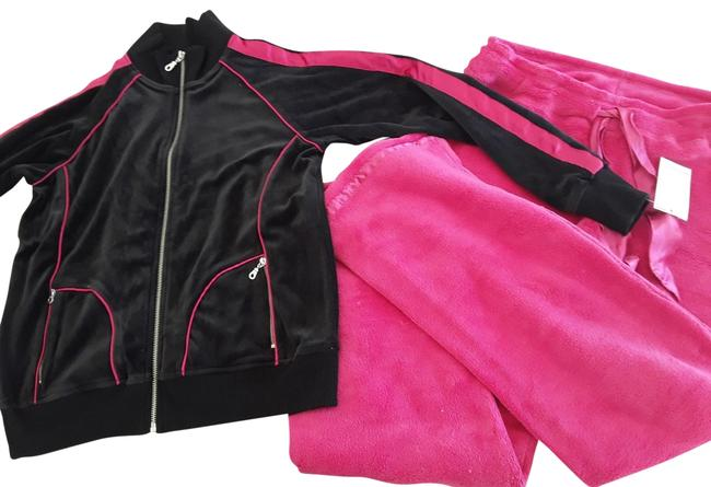 Item - New Velour Zip Up and Sweatpants Activewear Sportswear Size 6 (S, 28)
