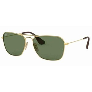 Ray-Ban Green Classic G-15 Lens RB3610 001/71 58 Square Unisex