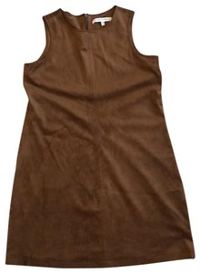 cupcakes and cashmere short dress brown on Tradesy