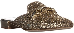 Kate Spade New York Gold Mules