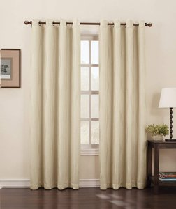 Oyster Alicia 52 By 84-inch Blackout Curtain Decoration