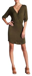 Loveappella short dress Green on Tradesy