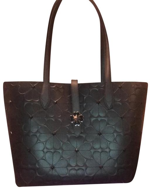 Kate Spade Black Leather Tote Kate Spade Black Leather Tote Image 1