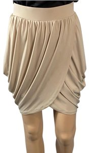 BCBG Paris Mini Skirt Tan