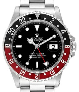 Rolex Rolex GMT Master Black Red Coke Bezel Mens Watch 16700