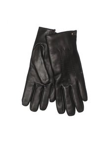 Coach Coach Ladies Black Leather Gloves Size 6 1/2