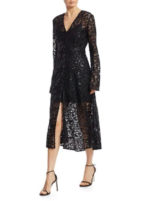 Item - Black Rotate No. 21 Mid-length Night Out Dress Size 2 (XS)