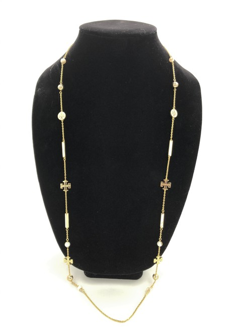 Item - Ivory Kira Scattered Rosary Necklace