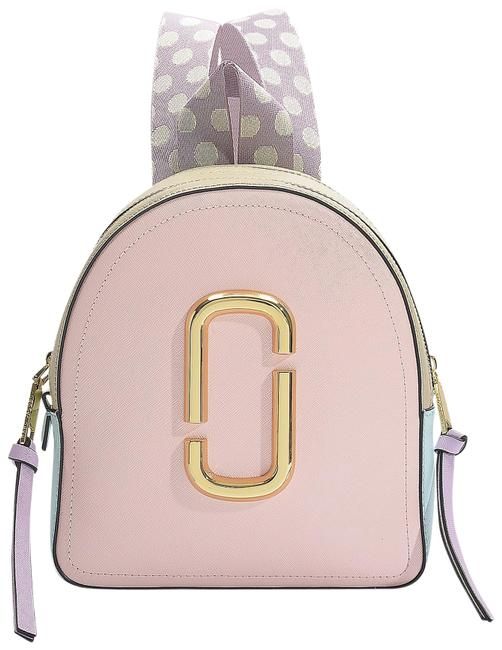 Item - Shot Rugsack Pink Leather Backpack