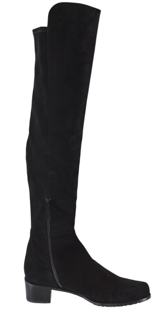 Item - Black New Allserve Suede Over The Knee Tall Boots/Booties Size US 12 Regular (M, B)