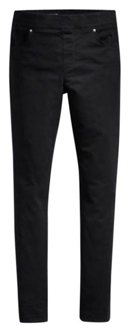 Item - Black Waves 16w Dark Rinse Perfectly Slimming Pull On Jeggings Size 18 (XL, Plus 0x)