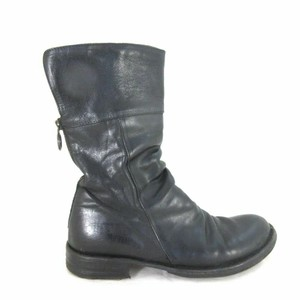 Fiorentini + Baker Leather Ella Black Boots