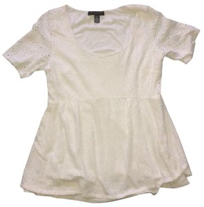 A Pea In The Pod Eyelet Layered Short Sleeve