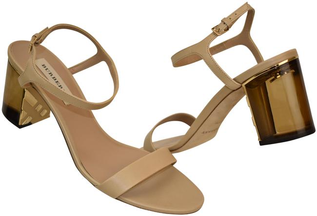 Item - Beige Alicia 70 Nude Leather Ankle Strap Mirror Italy Sandals Size EU 40.5 (Approx. US 10.5) Regular (M, B)