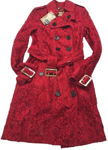 Burberry London Valentine Lace Trench Coat