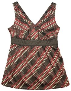 New York & Company Top red, brown