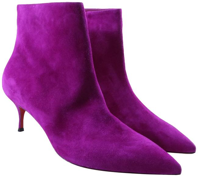 Item - Purple 55mm So Kate Classic Suede Ankle C509 Boots/Booties Size EU 37 (Approx. US 7) Regular (M, B)