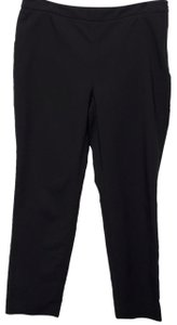 Chaus Courtney Side Zip Ankle Trouser Pants Black