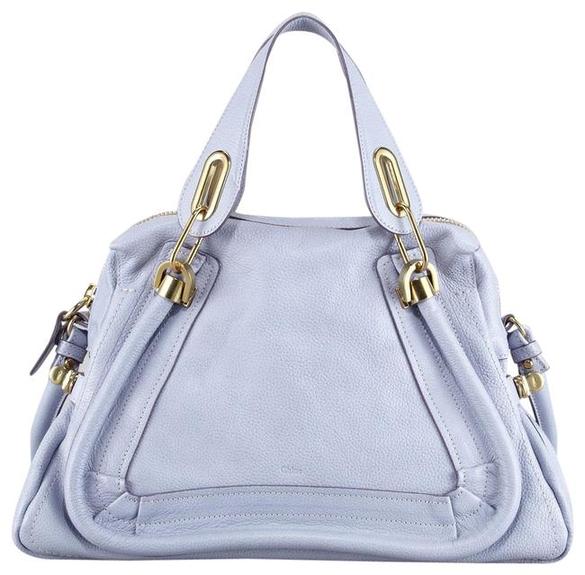 Item - Paraty Medium Wisteria Violet Leather Satchel