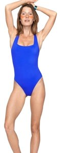 Outdoor Voices Outdoor Voices Splash One Piece Swimsuit in Royal Blue